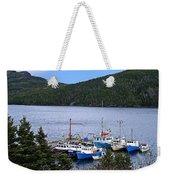 Boat Lineup Weekender Tote Bag