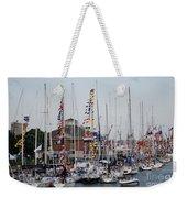 Boat Night Weekender Tote Bag
