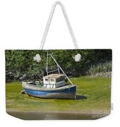 Boat On Banks Of Dee Weekender Tote Bag