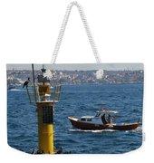 Boat Watchers Weekender Tote Bag