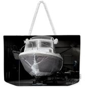Boat With Protection Weekender Tote Bag