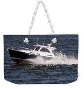Boating On The Bay Weekender Tote Bag