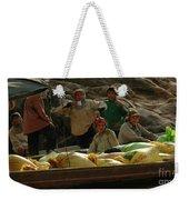Boatmen In Laos Weekender Tote Bag