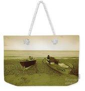 Boats At Beesands Weekender Tote Bag