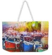 Boats In Italy Weekender Tote Bag