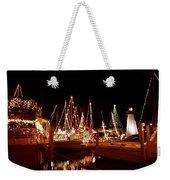 Boats Lighted Weekender Tote Bag