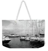 Boats Meeting Weekender Tote Bag