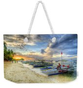 Boats Of Panglao Island Weekender Tote Bag
