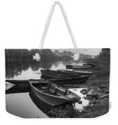 Boats On The Vienne Weekender Tote Bag