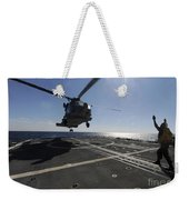 Boatswains Mate Signals The Pilots Weekender Tote Bag