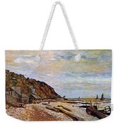Boatyard Near Honfleur Weekender Tote Bag by Claude Monet
