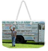 Bob And The Kindness Bus Weekender Tote Bag