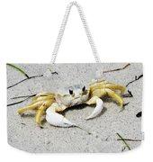 Boca Grande Crab Weekender Tote Bag