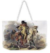 Bodmer: Blackfoot Horseman Weekender Tote Bag