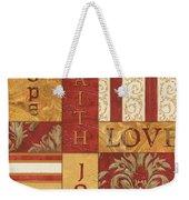 Bohemian Red Spice 1 Weekender Tote Bag