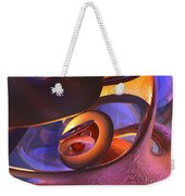 Bold Contagion Abstract Weekender Tote Bag