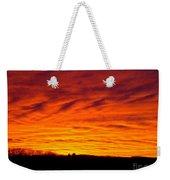 Bold Sunset Weekender Tote Bag