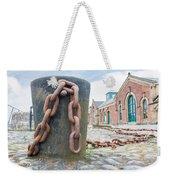 Bollard And Chain Weekender Tote Bag