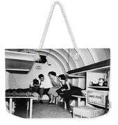 Bomb Shelter, 1955 Weekender Tote Bag