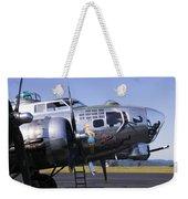 Bomber Sentimental Journey Weekender Tote Bag