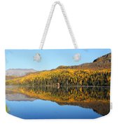 Bonnie Lake Reflections Weekender Tote Bag