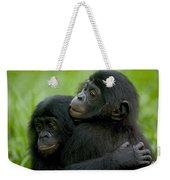 Bonobo Orphans Hugging Weekender Tote Bag
