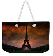 Bonsoir Paris Weekender Tote Bag