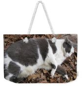Boojer In Leaves Weekender Tote Bag