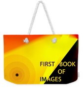 Book Jacket Cover For First Book Weekender Tote Bag