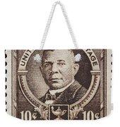 Booker T Washington Postage Stamp Weekender Tote Bag