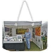 Booth At Saint Clair Shores Weekender Tote Bag