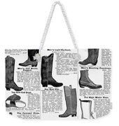 Boots Advertisement, 1895 Weekender Tote Bag