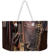 Boots Of A Drover Weekender Tote Bag