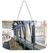 Boots, Rifles, Dog Tags, And Protective Weekender Tote Bag