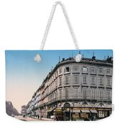 Bordeaux - France - Rue Chapeau Rouge From The Palace Richelieu Weekender Tote Bag by International  Images