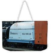 Bordens Milk Tank Car Weekender Tote Bag