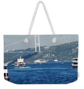 Bosphorus Traffic Weekender Tote Bag