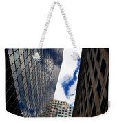 Boston Blue Sky And Stone Weekender Tote Bag