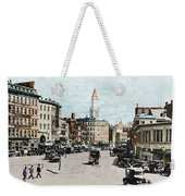 Boston: Bowdoin Square Weekender Tote Bag