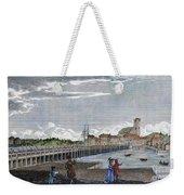 Boston: Charles River, 1789 Weekender Tote Bag
