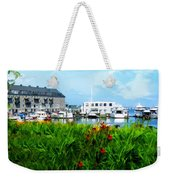 Boston Scene- Boston City Art Weekender Tote Bag