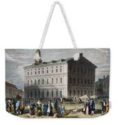 Boston: Faneuil Hall, 1776 Weekender Tote Bag