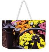 Boston Flowers Weekender Tote Bag