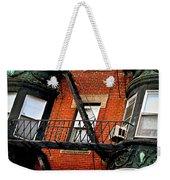 Boston House Fragment Weekender Tote Bag by Elena Elisseeva