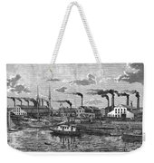 Boston: Iron Foundry, 1876 Weekender Tote Bag