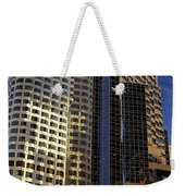 Boston Light Reflection And Stone Weekender Tote Bag