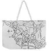 Boston: Map, 1770 Weekender Tote Bag