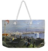 Boston, Mass., 1838 Weekender Tote Bag