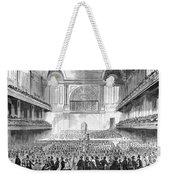 Boston: Music Hall, 1856 Weekender Tote Bag