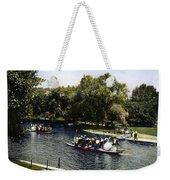 Boston: Swan Boats, C1900 Weekender Tote Bag
